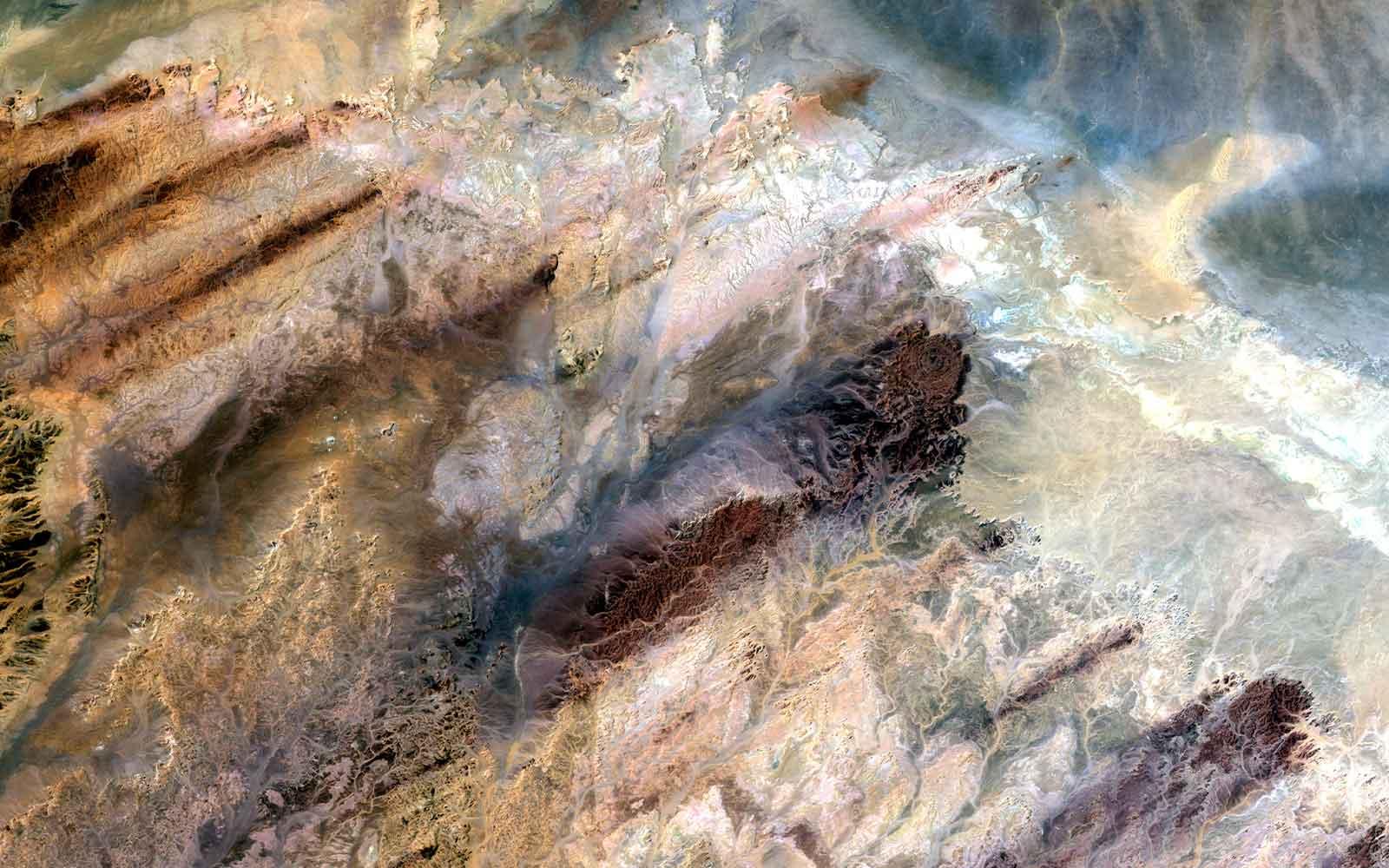 © USGS - Vue satellite
